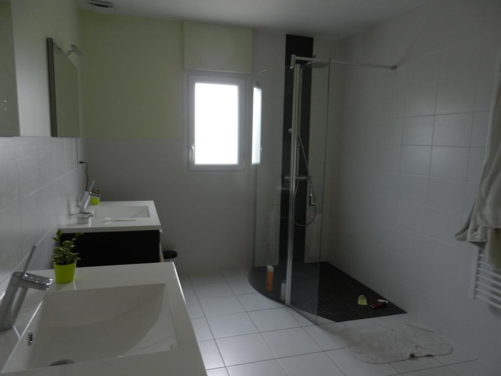 R novation ou cr ation de salle de bain nantes 44 loire atlantique saint s ba - Douche double italienne ...