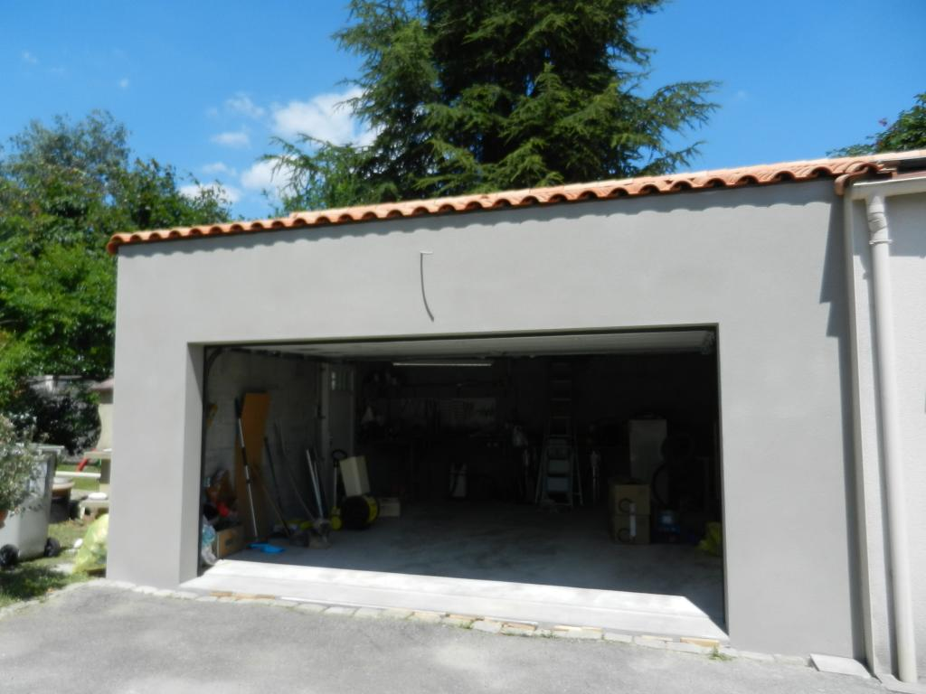 Construction d'un garage Vertou (44120)