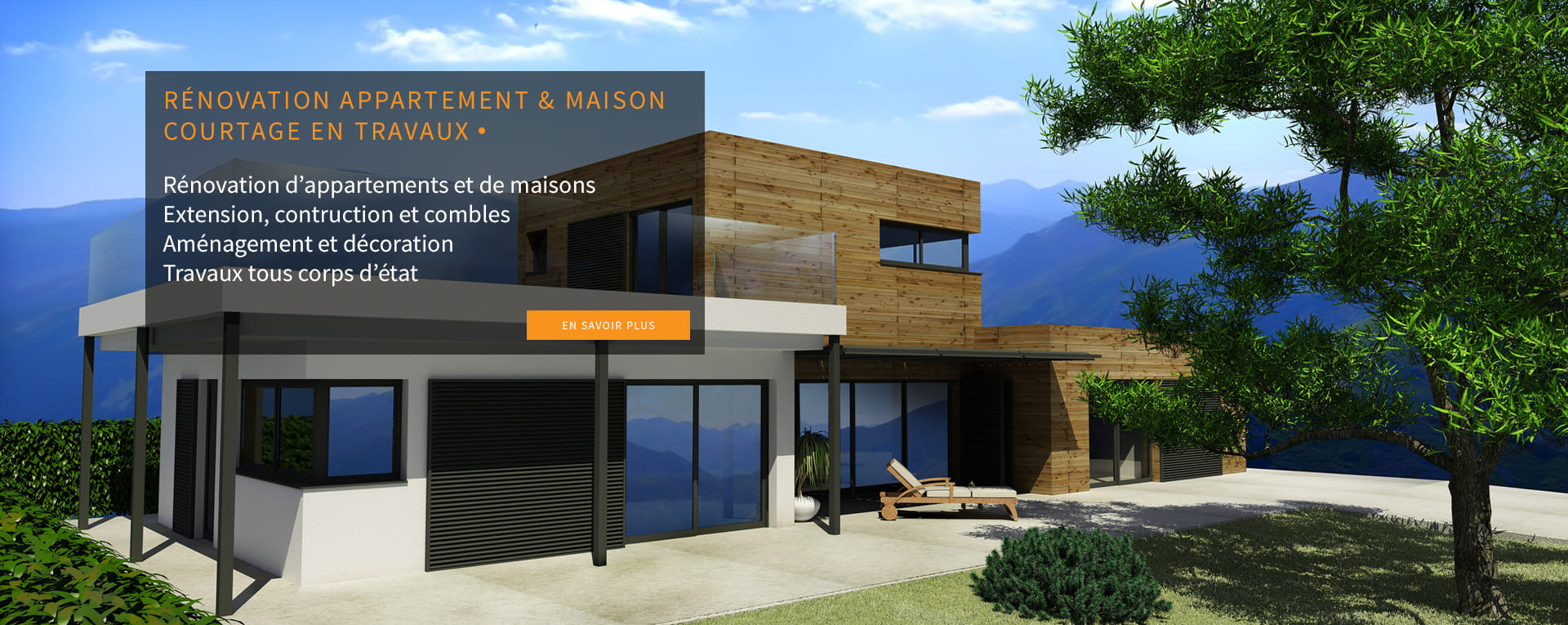 Extension, Agrandissement de maison